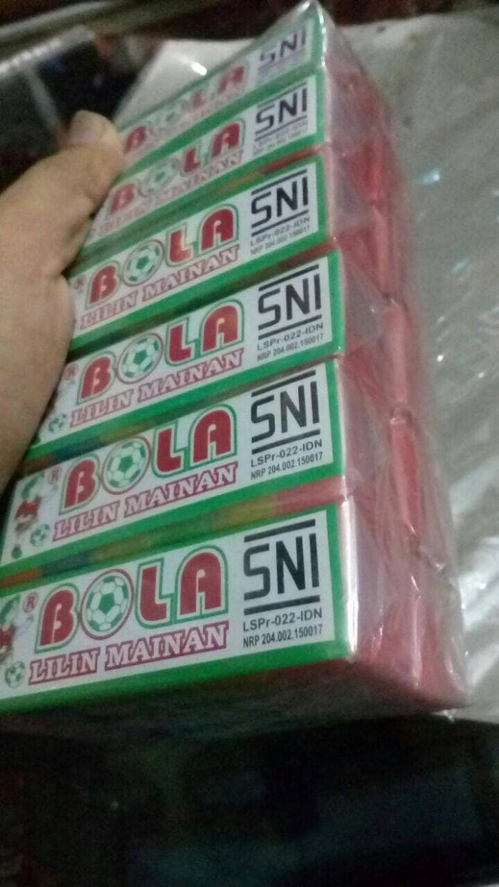 Jual MURAH Lilin Mainan SNI Cap Bola Pelapis Anti Banjir Bocor Jakarta Timur Adioto