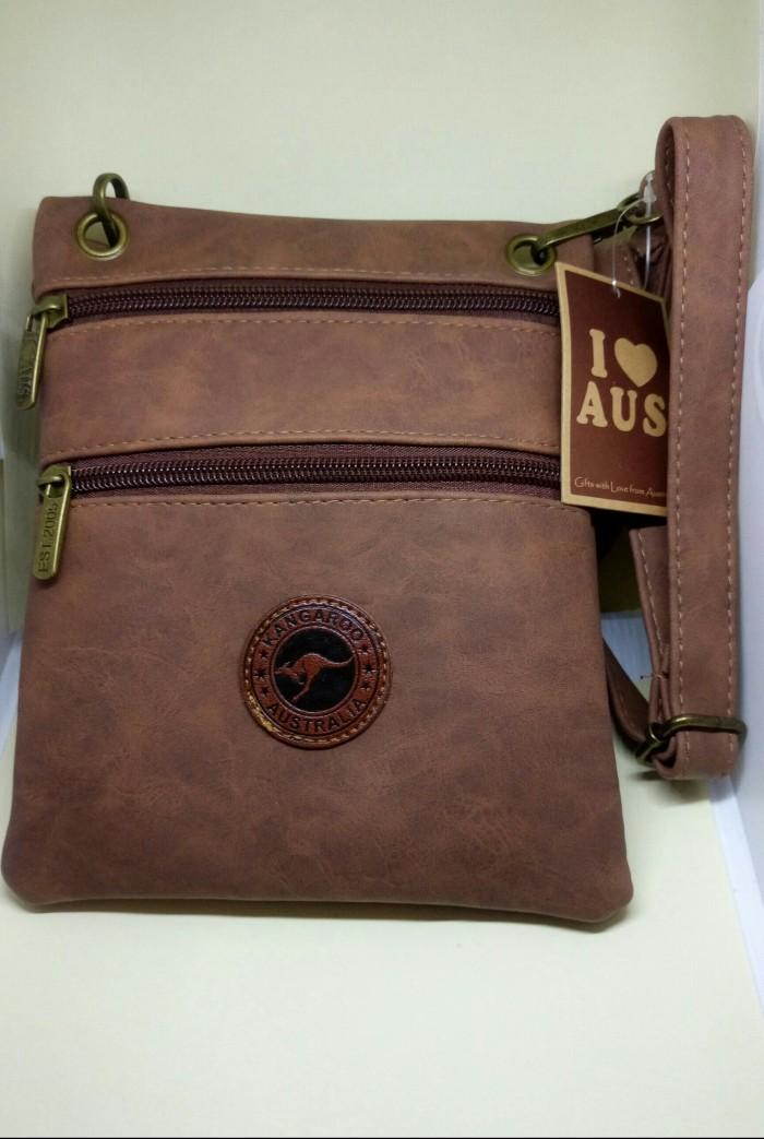 Jual tas selempang kulit pria wanita Australia 2 layer - Robagin ... b9d1e9bec2