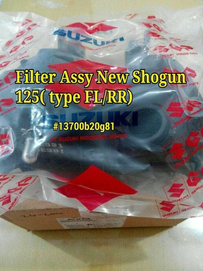 ... harga Filter assy filter udara karet penghubung shogun 125 sp fl cleaner as Tokopedia.com