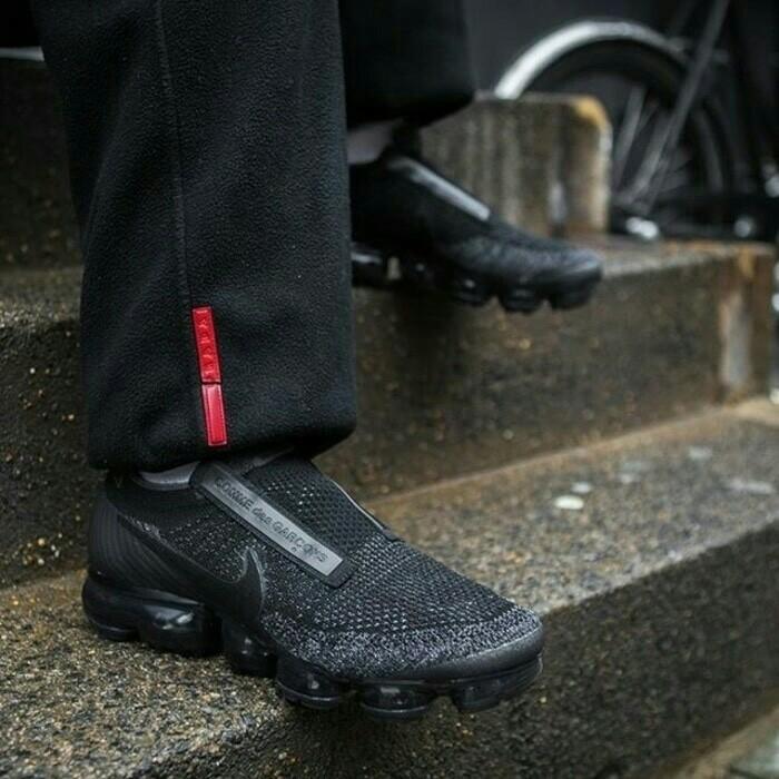 Sepatu nike air vapormax x cdg full black premium quality f26fb96bf6