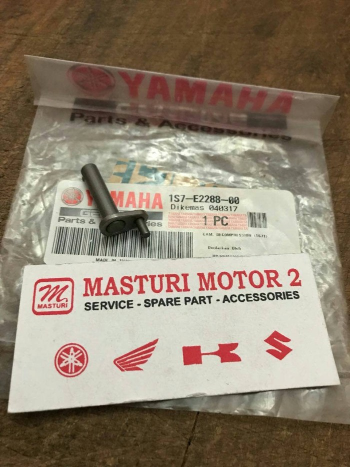 harga Cam decompression noken as jupiter mx/vixion/yamaha r15/r15 asli ygp Tokopedia.com
