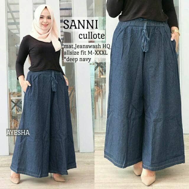 Jual SANNI CULLOT(jeans,levis,kulot remaja,jumbo,fashion ...