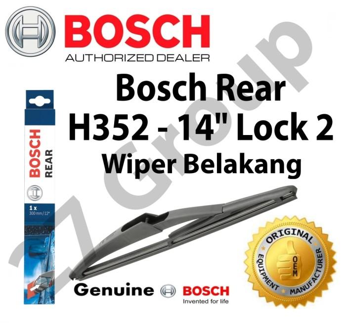 harga Wiper belakang toyota nav1 bosch h352 lock 2 - 14  - 1 pcs Tokopedia.com