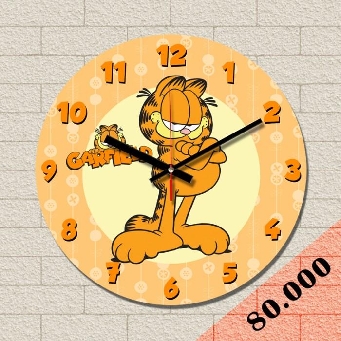 harga Jam dinding garfield new Tokopedia.com