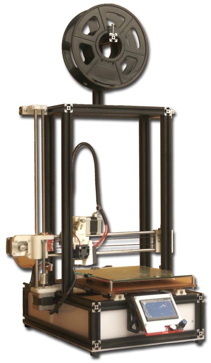 Foto Produk Official 3D Printer Centralab-C01 Full Alumunium Metal Terbaik dari CentraLab