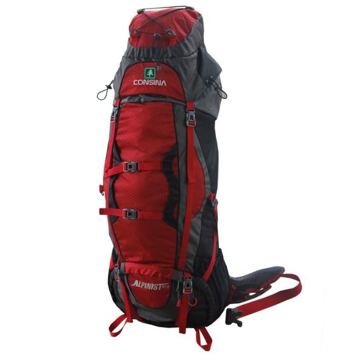 harga Keril / carrier / tas gunung consina alpinist 70+5 Tokopedia.com