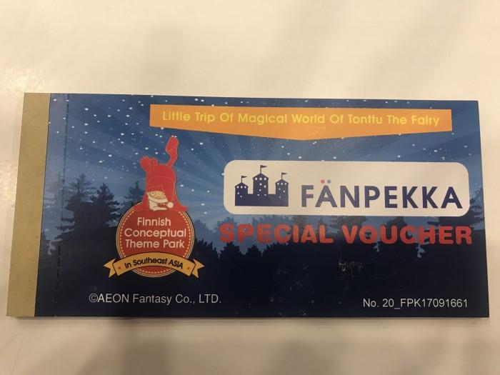 Voucher Fanpekka/ Tiket Arena Permainan Fanpekka ( weekday n weekend)