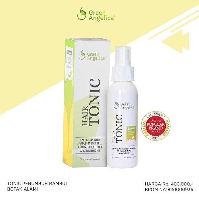 Jual Hair Tonic Green Angelica Solusi Rambut Rontok Dan Botak Terbaik Bpom Kota Surabaya Solusi Kebotakan Tokopedia