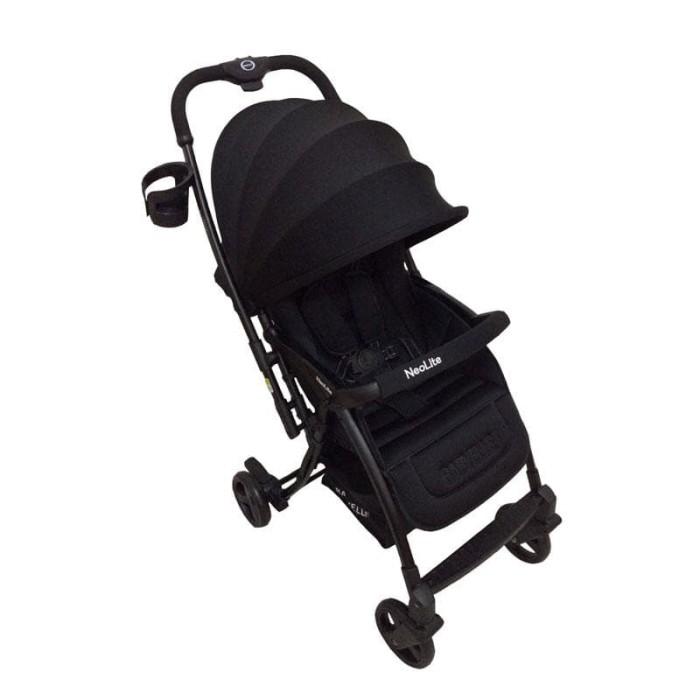 harga Kereta dorong bayi stroller babyelle s 607 rh neolite black Tokopedia.com
