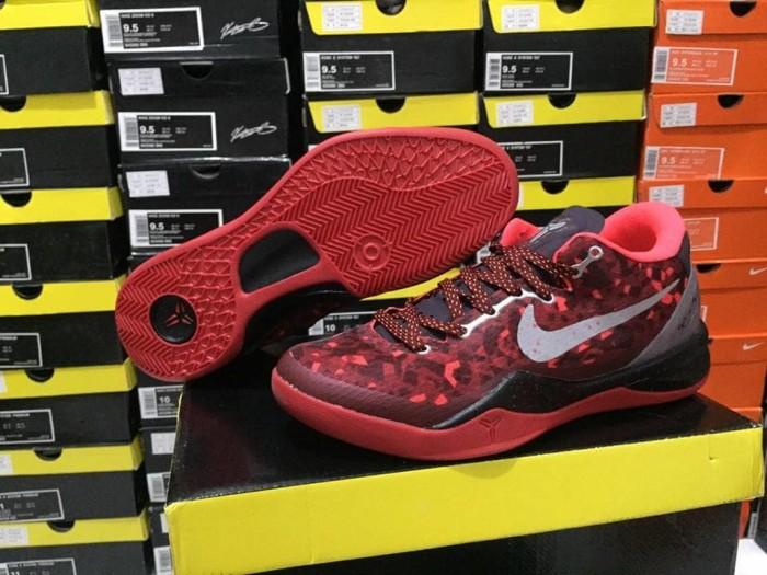 Jual Sepatu Basket Nike Kobe 8 Red Snake Merah Kota Surabaya