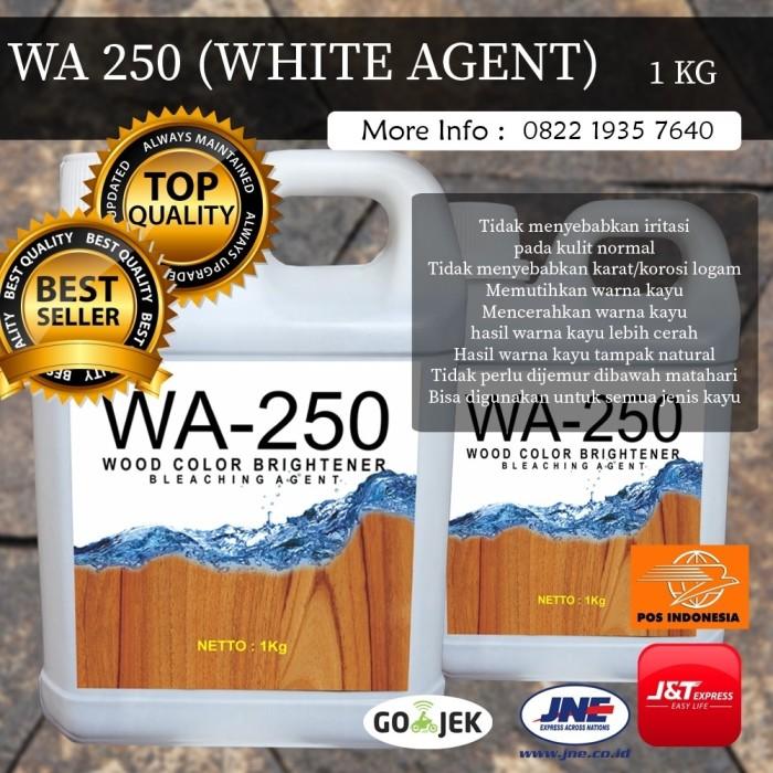 Foto Produk Obat Pemutih Kayu Obat Bleaching Kayu Pencerah Kayu WA-250 dari Bio Water Based