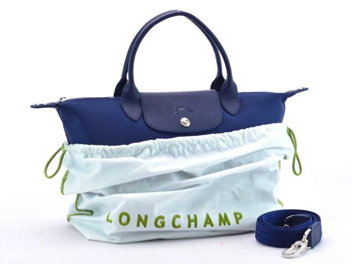 ... Tas Longchamp Le Pliage Neo Small Set Biru Dongker P1512 103
