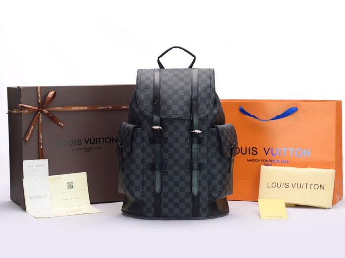 d6b644d2b28 Jual Backpack Louis Vuitton Christopher PM Damier Graphite N41379 - Kota  Batam - mybrandedstore | Tokopedia