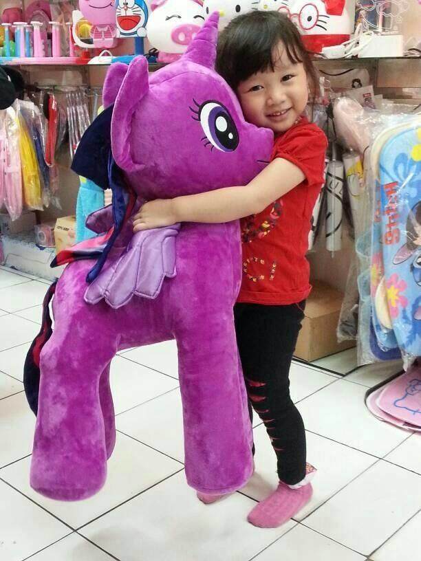 Jual Boneka Little Pony Kuda Poni Jumbo Bisa Gojek - Shop ... c3ee7c0c5b