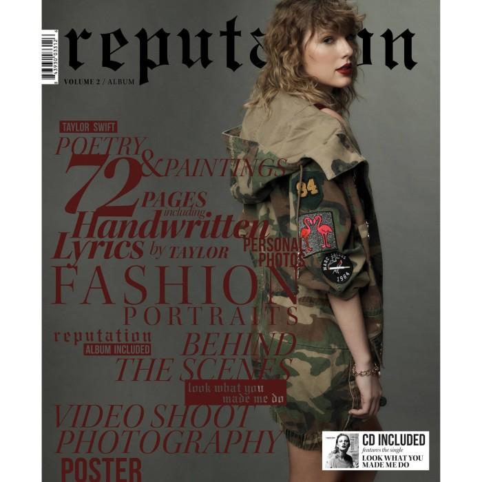 harga Taylor swift - reputation (cd + target exclusive magazine vol 2) Tokopedia.com