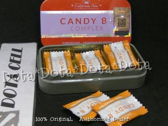 jual suplemen herbal pria candy b vitamin pria perkasa isi 4
