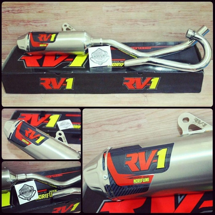 harga Knalpot racing norifumi rv1 nf pnp klx 150 s l bf dtracker rv 1 Tokopedia.com