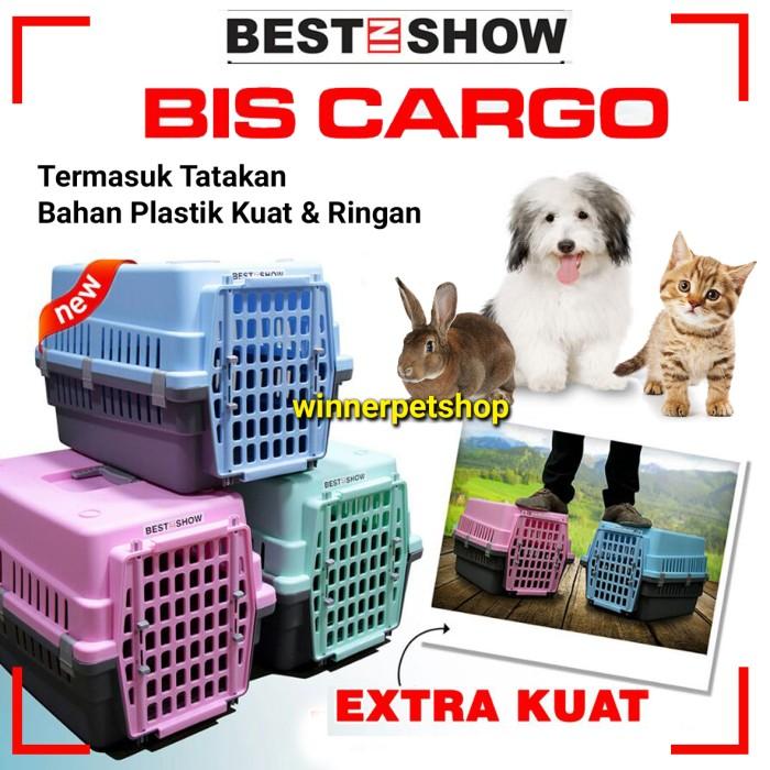 harga Bis cargo kandang anjing pet cargo - kandang anjing kucing portable Tokopedia.com