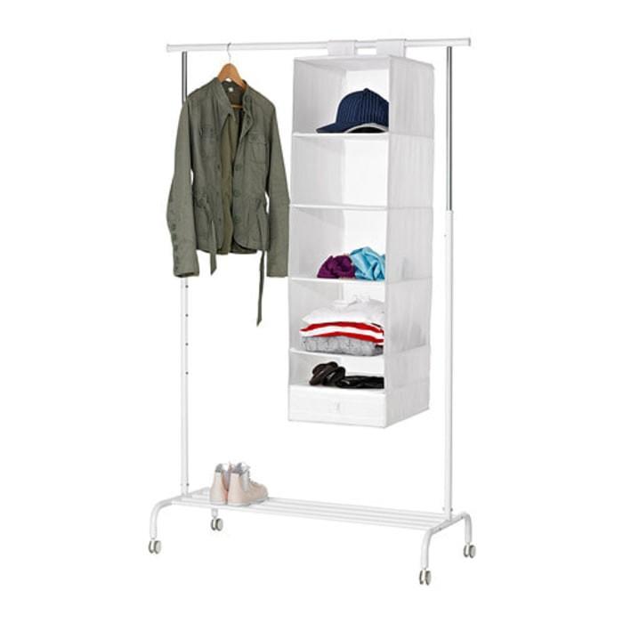 Jual Kotak Gantung Penyimpanan Baju 6 Susun Ikea Skubb Rak Tempat