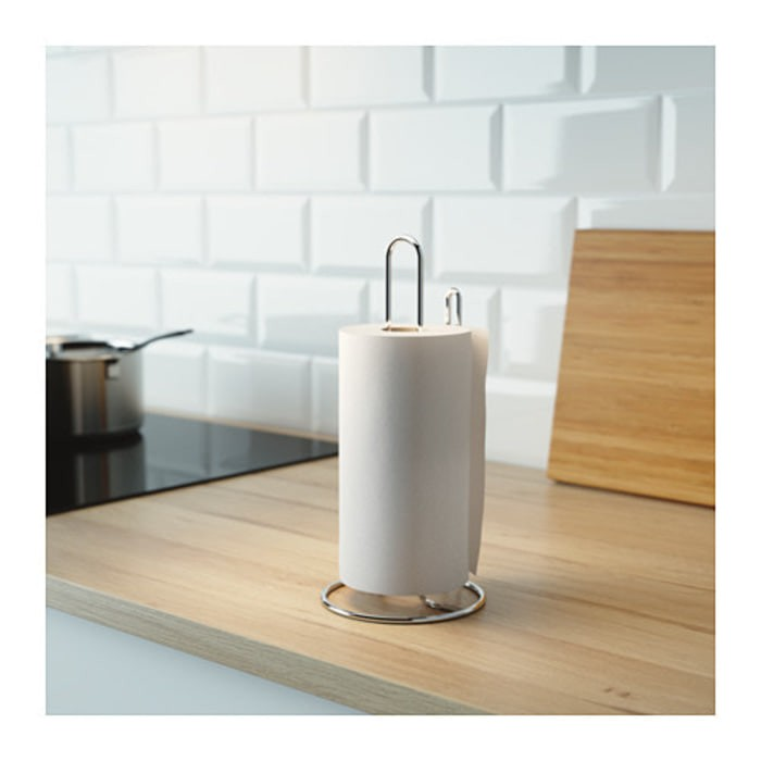 Harga Tempat Tissue Gulung Roll Baja Ikea Torkad Kotak Tisu Minyak Dapur Tokopedia