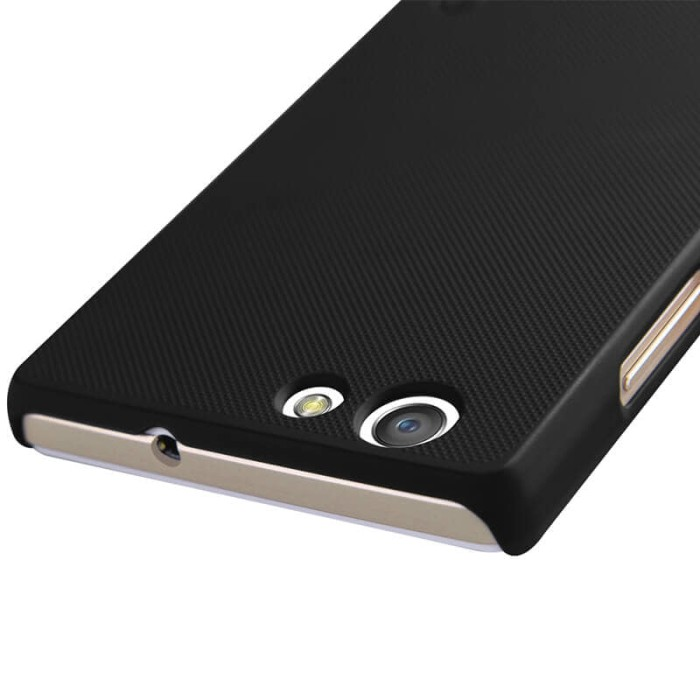 Nillkin Frosted Hard Case Oppo Neo 5 - Hitam