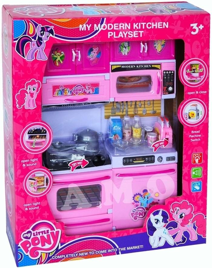 Jual Modern Kitchen Set Little Pony Mainan Anak Masak Masakan Jakarta Pusat Karima Aqila Store Tokopedia