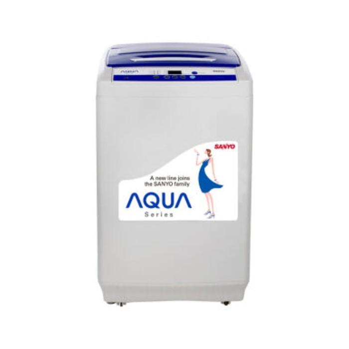 harga Aqua mesin cuci aqw-89xtffull auto anti karat dijamin murah Tokopedia.com