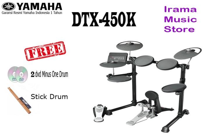 harga Drum elektrik yamaha dtx450 / dtx450k / dtx 450 / dtx 450k Tokopedia.com