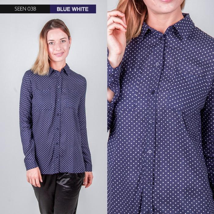 ... harga Baju atasan kemeja wanita branded original murah sisa eksport  modis Tokopedia.com e81a69ec2c