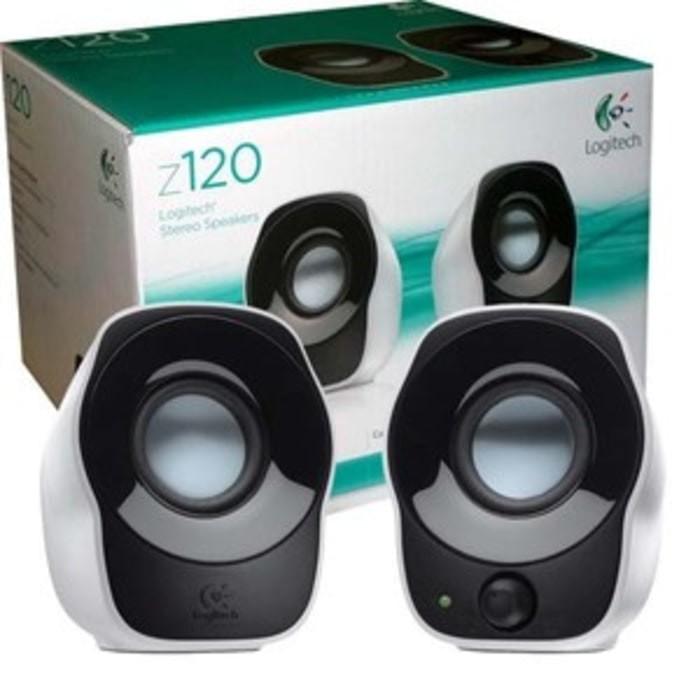 harga Speaker portable logitech z120 for laptop notebook netbook pc komputer Tokopedia.com