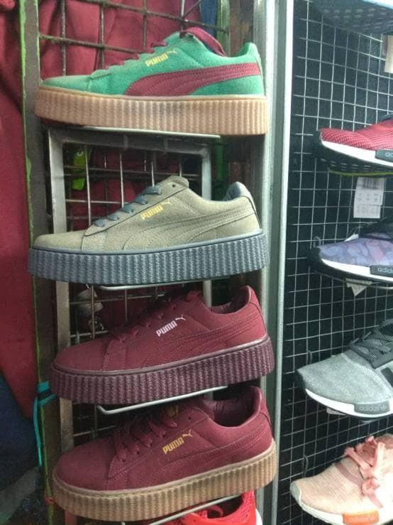harga Sepatu puma rihanna x creeper suede cewek cewe women rihana ladies Tokopedia.com