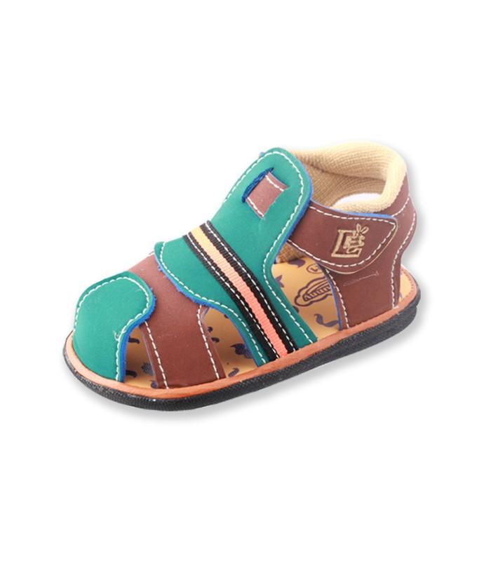 Lusty bunny sepatu sandal bunyi long strip webbing - hitam22 4751172808