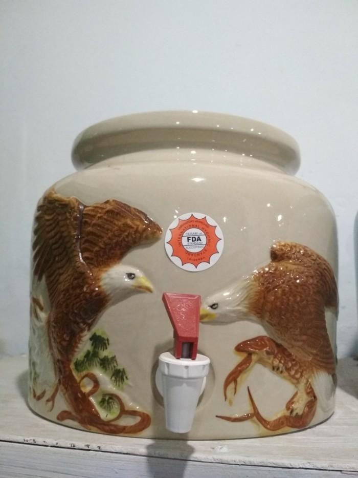harga Guci galon keramik murah dan bagus sudah fda Tokopedia.com