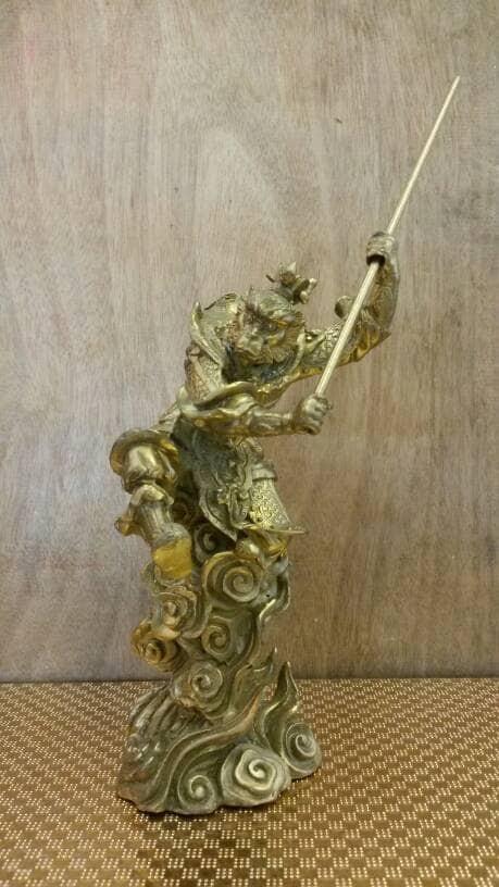 harga Patung sungokong bahan logam kuningan ( medium ) Tokopedia.com