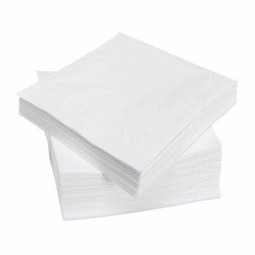 harga Ikea serbet kertas, kertas tisue, putih, 40x40cm, 100pc, tisue makan Tokopedia.com