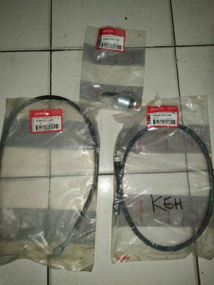 harga Paket kabel speedometer - rpm - bendik stater megapro primus asli ahm Tokopedia.com