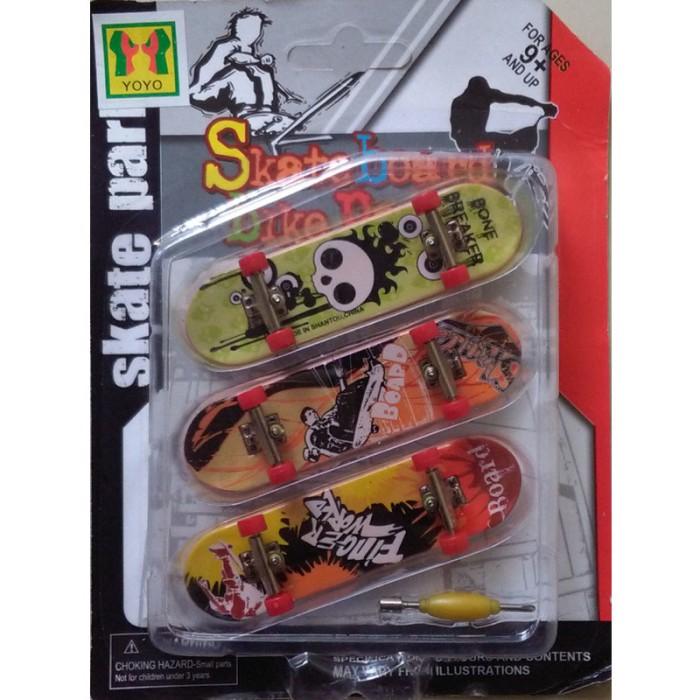 harga Fingerboard 9905 skate board skate park isi 3 Tokopedia.com
