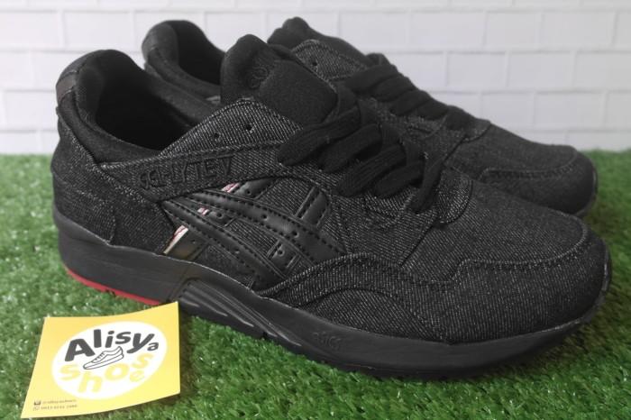 ... hot sepatu asics gel lyte v denim black premium quality harga 67d80  3b8f5 13890d7567