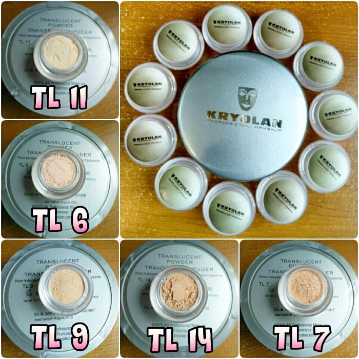 harga Kryolan Translucent Powder / Finishing Sample Size 9g Original Tokopedia.com