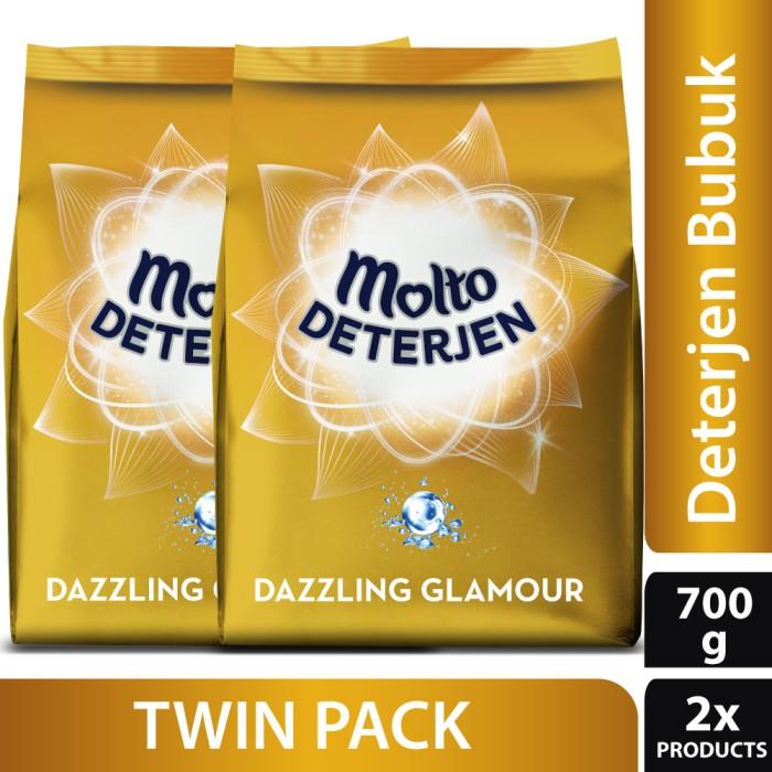 harga Molto gold deterjen bubuk dazzling glamour 700gr - twin pack Tokopedia.com