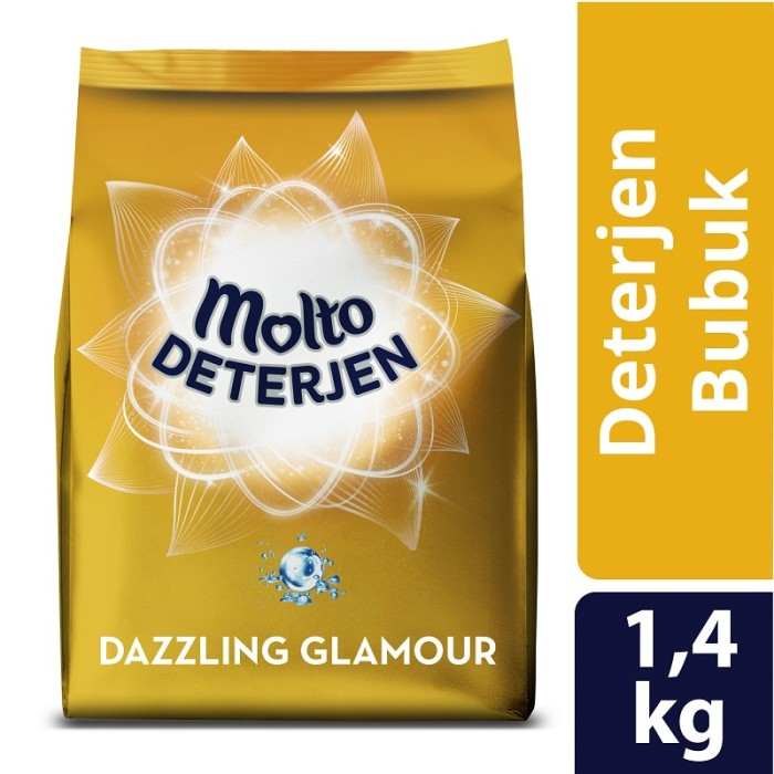 harga Molto gold deterjen bubuk dazzling glamour 1.4kg Tokopedia.com