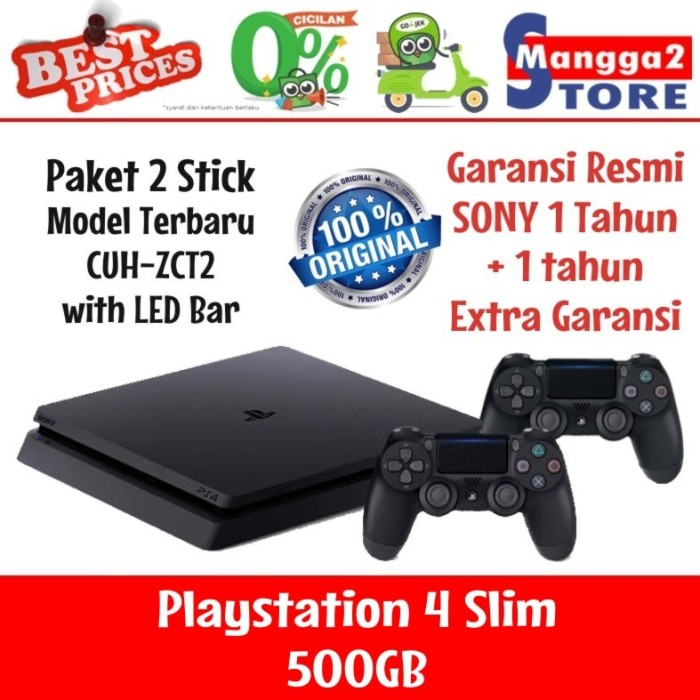 PLAYSTATION4 GOLD WIRELESS STEREO HEADSET FOR PLAYSTATION 4 AND PLAYSTATION 3 HITAM. PS4 Slim 500GB 2 Stick Original Baru SONY Playstation 4