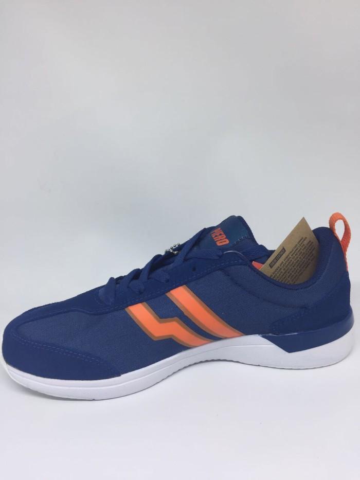 harga Sepatu casual piero original fury ink blue/white/orange new 2018 Tokopedia.com