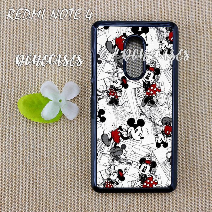 Jual Casing Xiaomi Redmi Note 4 Mickey Mouse Hard Case Custom - Kota  Semarang - donecases | Tokopedia
