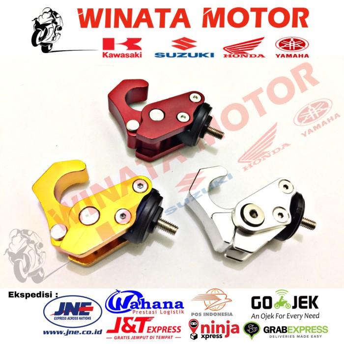 harga Gantungan barang variasi full cnc nmax/universal aksesoris motor Tokopedia.com