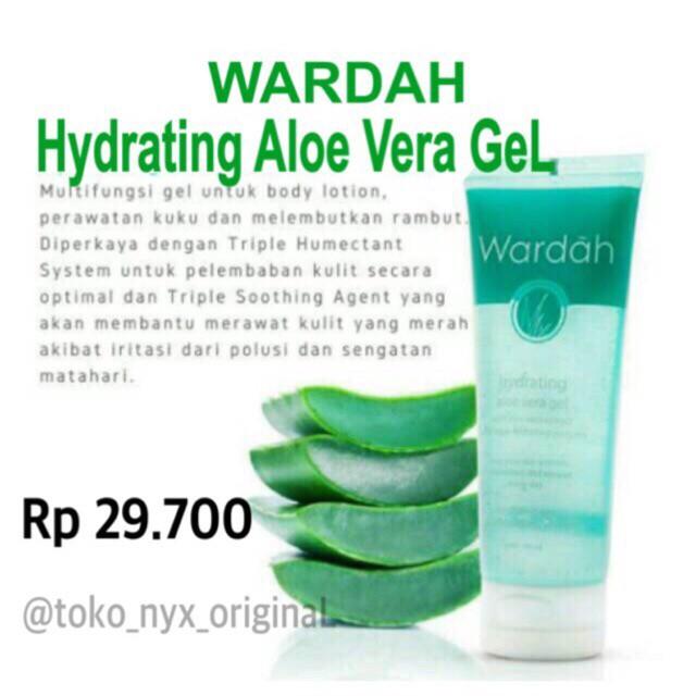 Harga Aloe Vera Gel Wardah Travelbon.com