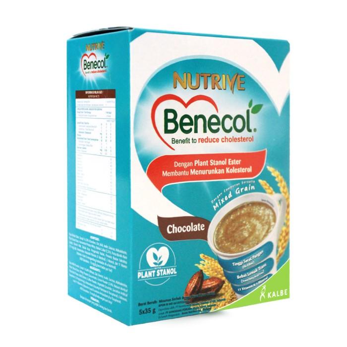 harga Nutrive benecol cereal powder chocolate 5x35gr Tokopedia.com
