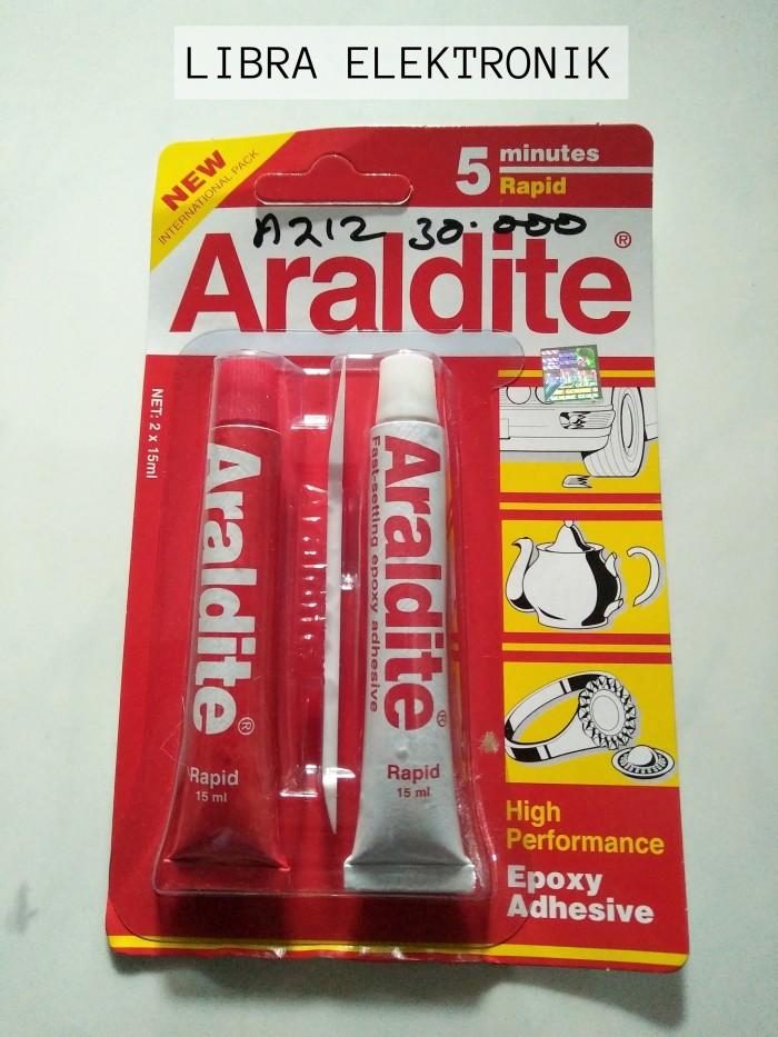 harga Lem araldite combain merah putih Tokopedia.com