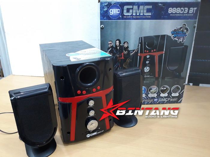 harga Speaker active bluetooth multimedia gmc 888d3 bt Tokopedia.com