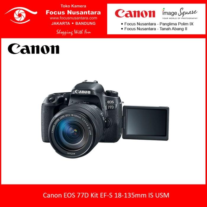 harga Canon eos 77d kit ef-s 18-135mm is usm Tokopedia.com